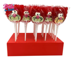 Cat lollipops