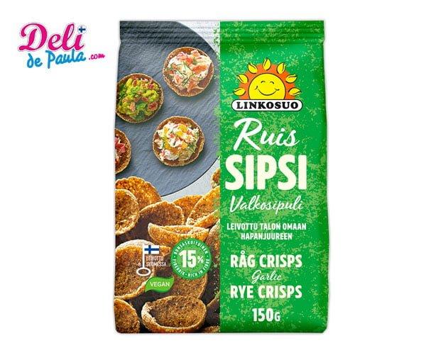 Rye Crisps Garlic 150g - Deli de Paula