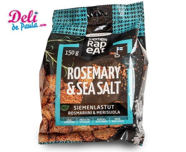 Chips de Semillas Romero y Sal Marina - Deli de Paula
