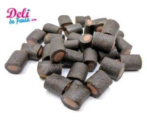 Licorice filled with chocolate - Deli de Paula
