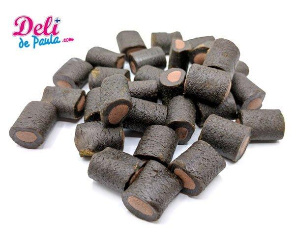 Regaliz relleno de chocolate - Deli de Paula