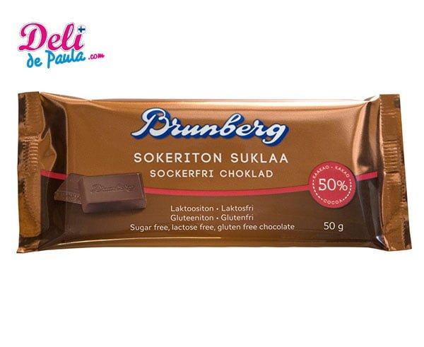 Chocolate sin Azúcar sin Lactosa 50% - Deli de Paula