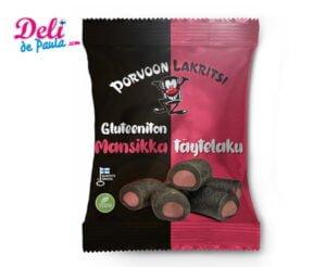 Glutenfree licorice with strawberry flavoured filling- Deli de Paula